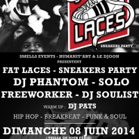 FAT LACES - SNEAKERS PARTY @ Djoon - 2x2 places à gagner